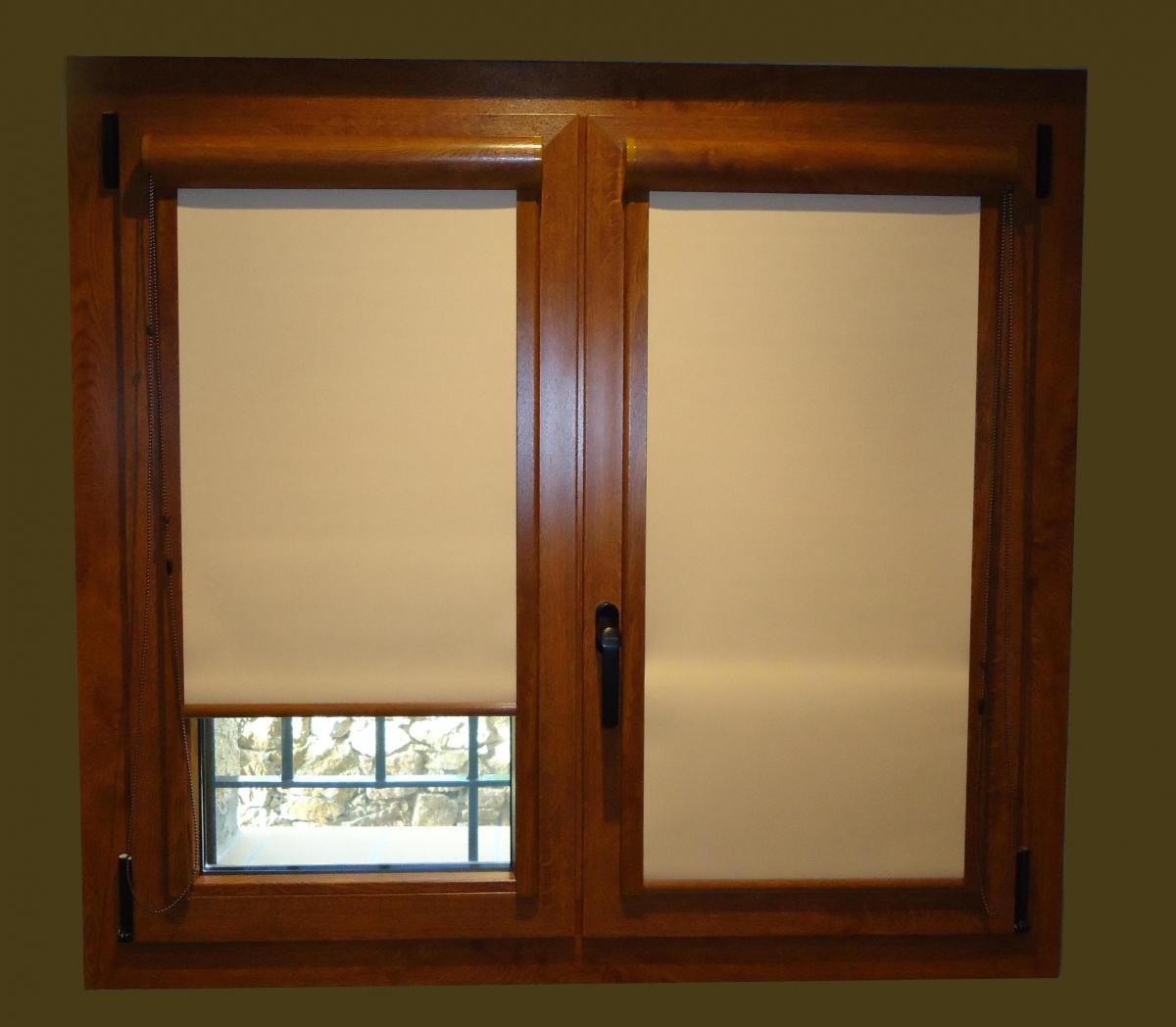 Malva la cortina enrollable interior que ofrece una gran - Sistemas de cortinas y estores ...